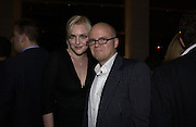 Sophie Dahl and the hon. toby Young. How to lose friends and Alienate people. Toby Young book party hosted by Sophie Dahl and Dylan Jones. Isola. 31 October 2001. © Copyright Photograph by Dafydd Jones 66 Stockwell Park Rd. London SW9 0DA Tel 020 7733 0108 www.dafjones.com