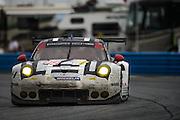 January 30-31, 2016: Daytona 24 hour: #912 Earl Bamber, Frederic Makowiecki, Michael Christensen, Porsche North America, Porsche 911 RSR GTLM