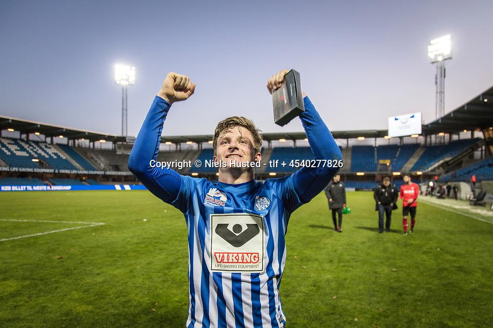 Fodbold, Esbjerg fB og Brabrand 4:0