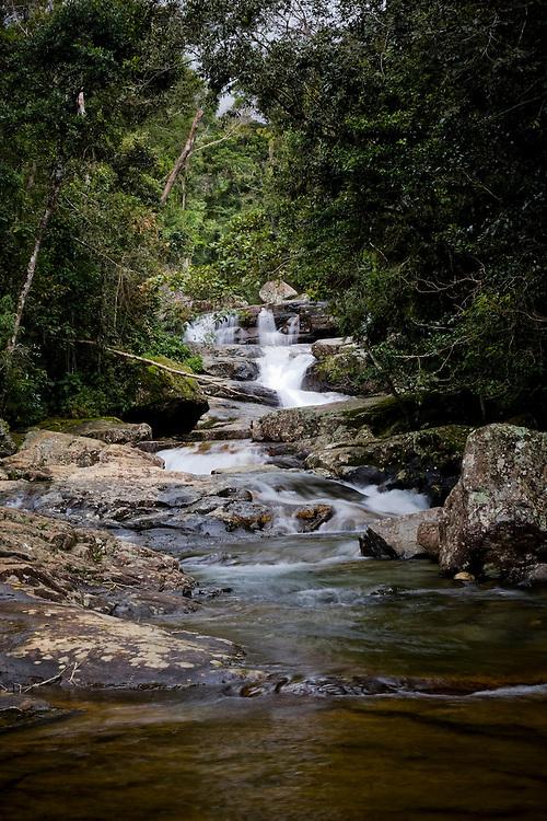 Alto Caparao_MG, Brasil...Cachoeira Vale Verde no Parque Nacional do Caparao...The Vale Verde waterfall in the National Park of Caparao...Foto: BRUNO MAGALHAES / NITRO