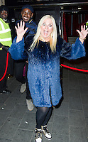 Vanessa Feltz, A Night With Nick, INK, London UK, 04 December 2013, Photo by Raimondas Kazenas