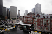 facade view of the renovated Tokyo Station