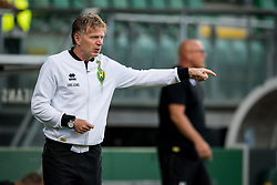 coach Alfons Fons Groenendijk of ADO Den Haag during the Pre-season Friendly match between ADO Den Haag and Panathinaikos at the Cars Jeans Stadium on July 28, 2018 in The Hague, The Netherlands