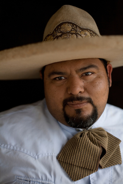 Photo by Julia Robinson.Mario Villaseñor, charro.
