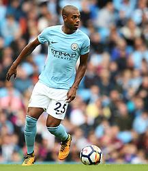 Fernandinho of Manchester City - Mandatory by-line: Matt McNulty/JMP - 14/10/2017 - FOOTBALL - Etihad Stadium - Manchester, England - Manchester City v Stoke City - Premier League