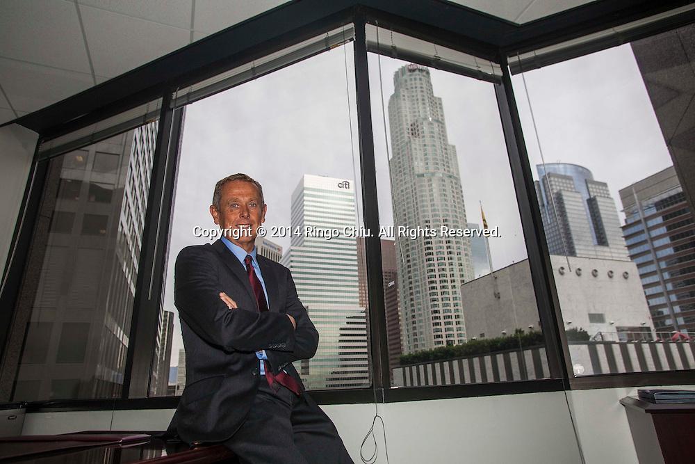Adriaan Van Zyl, CEO of California Business Bank.  (Photo by Ringo Chiu/PHOTOFORMULA.com)