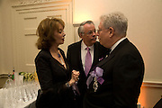 AMERICAN AMBASSADOR ROBERT TUTTLE AND HIS WIFE. Nicky Haslam party for Janet de Botton and to celebrate 25 years of his Design Company.  Parkstead House. Roehampton. London. 16 October 2008.  *** Local Caption *** -DO NOT ARCHIVE-© Copyright Photograph by Dafydd Jones. 248 Clapham Rd. London SW9 0PZ. Tel 0207 820 0771. www.dafjones.com.