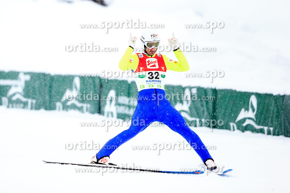17.12.2017, Nordische Arena, Ramsau, AUT, FIS Weltcup Nordische Kombination, Skisprung, im Bild Lukas Klapfer (AUT) // Lukas Klapfer of Austria during Cross Country Training of FIS Nordic Combined World Cup, at the Nordic Arena in Ramsau, Austria on 2017/12/17. EXPA Pictures © 2017, PhotoCredit: EXPA/ Dominik Angerer