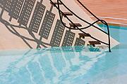 Swimming pool steps, Port La Galere