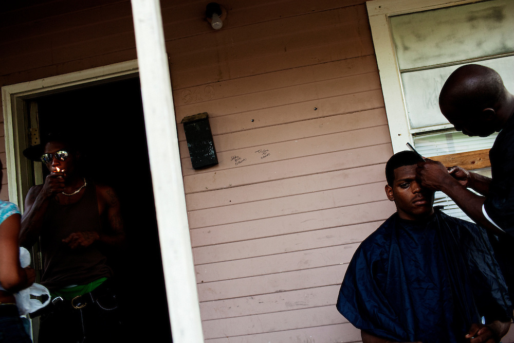 in the Baptist Town neighborhood of Greenwood, Mississippi on Friday, July 2, 2010