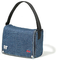 denim cult handbag