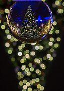 Crystal ball, reflection, reverse,