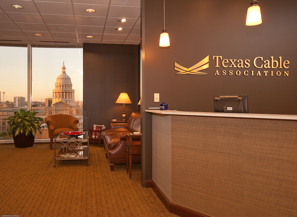 Offices for the Texas Cable Association are well located.