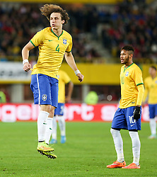 18.11.2014, Ernst Happel Stadion, Wien, AUT, Freundschaftsspiel, Oesterreich vs Brasilien, im Bild David Luiz (BRA)u nd Neymar jr (BRA) // during the friendly match between Austria and Brasil at the Ernst Happel Stadion, Vienna, Austria on 2014/11/18. EXPA Pictures © 2014, PhotoCredit: EXPA/ Alexander Forst