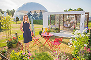 A Very Modern Problem Garden by Pollyanna Willkinson (pictured) Press day at The RHS Hampton Court Flower Show.