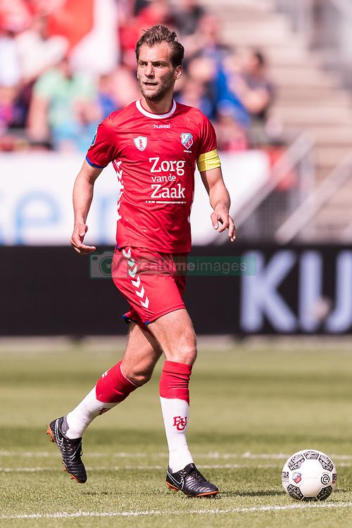 Willem Janssen of FC Utrecht during the Dutch Eredivisie match between FC Utrecht and ADO Den Haag at the Galgenwaard Stadium on April 08, 2018 in Utrecht, The Netherlands