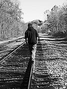 Figure On the Tracks
