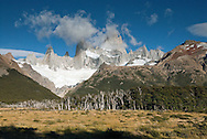 Mt Fitzroy and surrounding peaks, Los Glaciares national park, Patagonia, Argentina