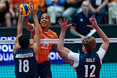 20190811 NED: FIVB Tokyo Volleyball Qualification 2019 / Netherlands - USA, Rotterdam