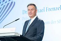 13 SEP 2018, BERLIN/GERMANY:<br /> Dr. Michael Frenzel, Praesident, Wirtschaftsforum der SPD e.V., Mitgliederversammlung SPD Wirtschaftsforum, Maritim proArte Hotel<br /> IMAGE: 20180913-02-036