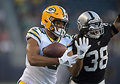 NFL-Green Bay Packers at Oakland Raiders-Aug 22, 2019