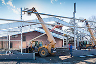 Middletown, New York - Construction continues on the new pool at the YMCA of Middletown on Feb. 29, 2016.