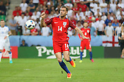 England Midfielder Jordan Henderson during the Euro 2016 Group B match between Slovakia and England at Stade Geoffroy Guichard, Saint-Etienne, France on 20 June 2016. Photo by Phil Duncan.