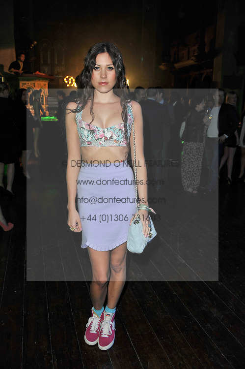ELIZA DOOLITTLE at a party to launch the Dom Perignon Luminous label held at No.1 Mayfair, London on 24th May 2011.