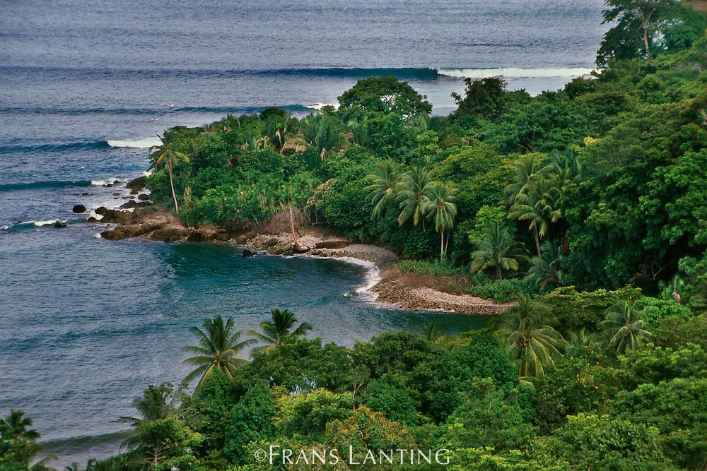 Coastline, Osa Peninsula, Costa Rica