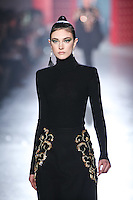 Jacquelyn Jablonski walks down runway for F2012 Jason Wu's collection in Mercedes Benz fashion week in New York on Feb 10, 2012 NYC