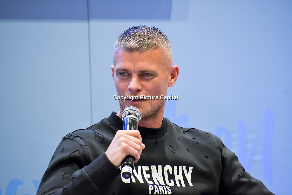 Paul Konchesky is an English footballer interview and he will be running his first marathon at London Marathon Exhibition 2019 - ExCeL London on 26 April 2019, London, UK.