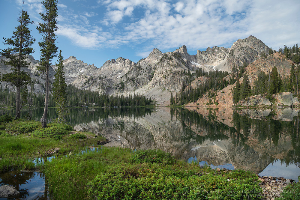 Alice Lake Sawtooth Mountains Idaho