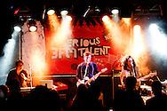 NIJMEGEN - '3FM Serious Talent Tour' in muziekpodium Merelyn . Vanavond staan op het podium: Ed, Chagall en A Polaroid View. In actie  A Polaroid View . ROBIN UTRECHT FOTOGRAFIE