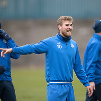 St Johnstone Training…09.12.16<br />David Wothertspoon pictured during training at McDiarmid Park this morning..<br />Picture by Graeme Hart.<br />Copyright Perthshire Picture Agency<br />Tel: 01738 623350  Mobile: 07990 594431