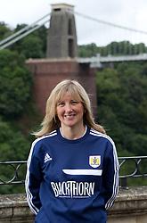 Bristol City football administrator Donna Venables - Photo mandatory by-line: Kieran McManus/JMP - Tel: Mobile: 07966 386802 31/07/2013 - SPORT - FOOTBALL - Avon Gorge Hotel - Clifton Suspension bridge - Bristol -  Team Photo