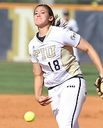 FIU Softball Vs. Middle Tennessee 2011