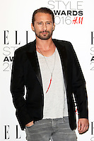 Matthias Schoenaerts, ELLE Style Awards 2016, Millbank London UK, 23 February 2016, Photo by Richard Goldschmidt