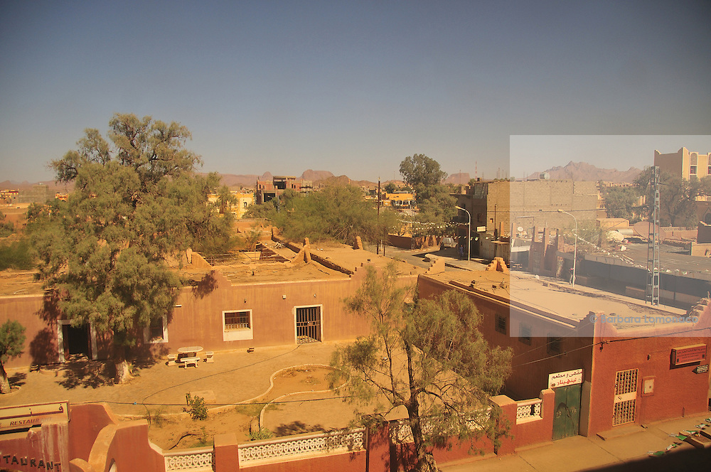 Tamanrasset, Algeria. View from the Marché des Artisans's window.