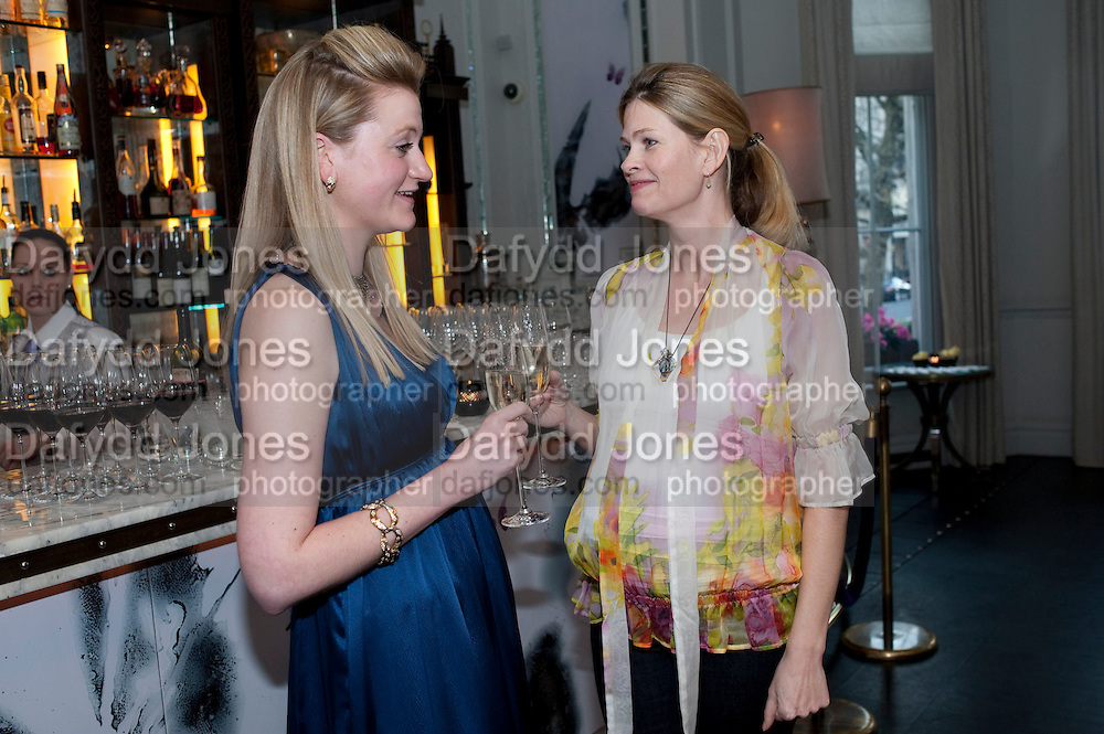 SOPHIE HACKFORD; EMMA TWEED, Henry Porter hosts a launch for Songs of Blood and Sword by Fatima Bhutto. The Artesian at the Langham London. Portland Place. 15 April 2010.