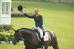 Van Silfhout Diederick, (NED), Arlando<br /> European Championship Aachen 2015 - Dressage<br /> © Hippo Foto - Stefan Lafrentz