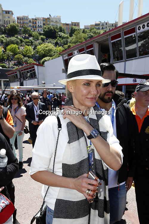 59707374 .Actress Cameron Diaz attends Formula One Grand Prix of Monaco on May 26, 2013, in Monte Carlo, Monaco..UK ONLY