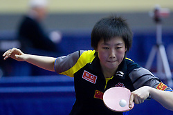Wen Jia of China 10th Slovenian Open Table Tennis Championships - Pro Tour Velenje Slovenian Open tournament, in Round 1, on January 15, 2009, in Red sports hall, Velenje, Slovenia. (Photo by Vid Ponikvar / Sportida)