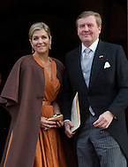 Amsterdam 13-01-2016<br /> <br /> King Willem-Alexander and Queen Maxima give New Years reception for Diplomats<br /> <br /> Photo; Royalportraits Europe/Bernard Ruebsamen