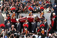 funerali Giovanni Paolo II