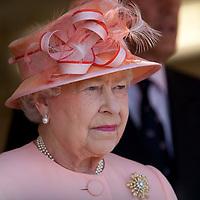 Cowes visit by HRH Queen Elizabeth II