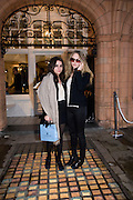 ASSISI JACKSON, DAUGHTER OF JADE JAGGER; ESME HODSOLL. The Launch of the Lanvin store on Mount St. Presentation and cocktails.  London. 26 March 2009