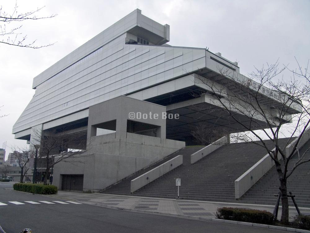 Edo Tokyo museum building Ryogoko Tokyo