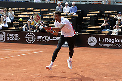May 22, 2018 - Lyon, France - CALVIN HEMERY DURING THE MATCH FOR  ATP 250 IN LYON 22.05.2018 (Credit Image: © Panoramic via ZUMA Press)