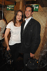 ARABELLA MUSGRAVE and the HON.JAMES TOLLEMACHE at a party to celebrate the launch of Independent (Formerly ICM) held at Mahiki, 1 Dover Street, London W1 on 17th September 2007.<br />