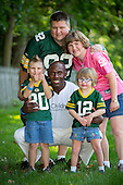 Donald Driver with Szymczaks Family
